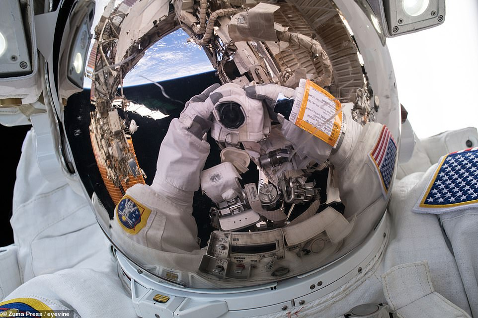 NASA's Ricky Arnold poses for a selfie on March 29, 2018.