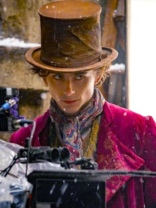 Timothee Chalamet shares first look of him as Willy WonkaPicture: Warner Bros/ tchalametVerifiedMETROGRAB