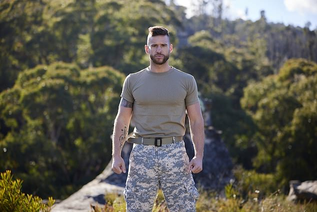 Hitting back: Last month, the Home and Away star rubbished claims he talks about himself in third person, after footage from SAS Australia went viral