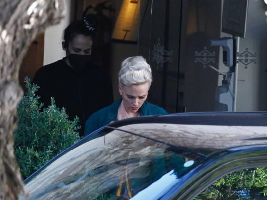 Scarlett Johansson is in Madrid filming Asteroid City