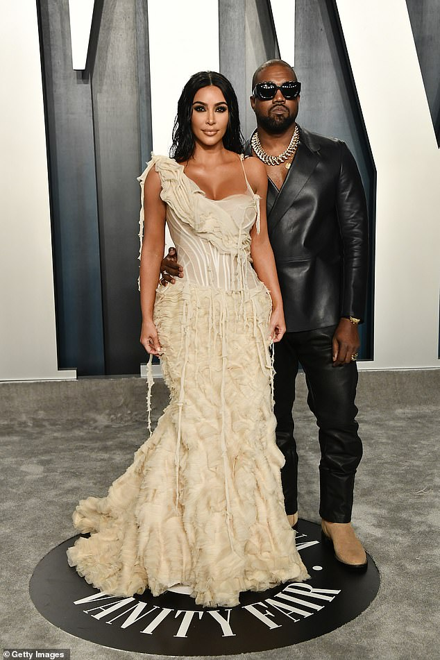 Sorry:Meanwhile Kanye reportedly 'regrets' how he behaved in his marriage to Kim. Seen in 2020