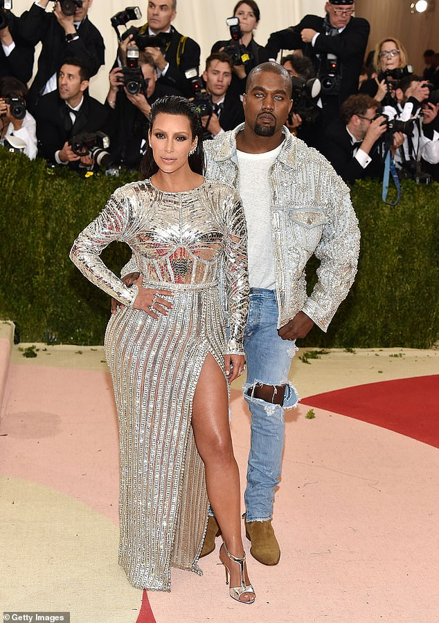 Hoping for a reconciliation:And the insider also claimed Kanye still 'occasionally' wears his wedding ring despite his split from Kim. Pictured in 2016
