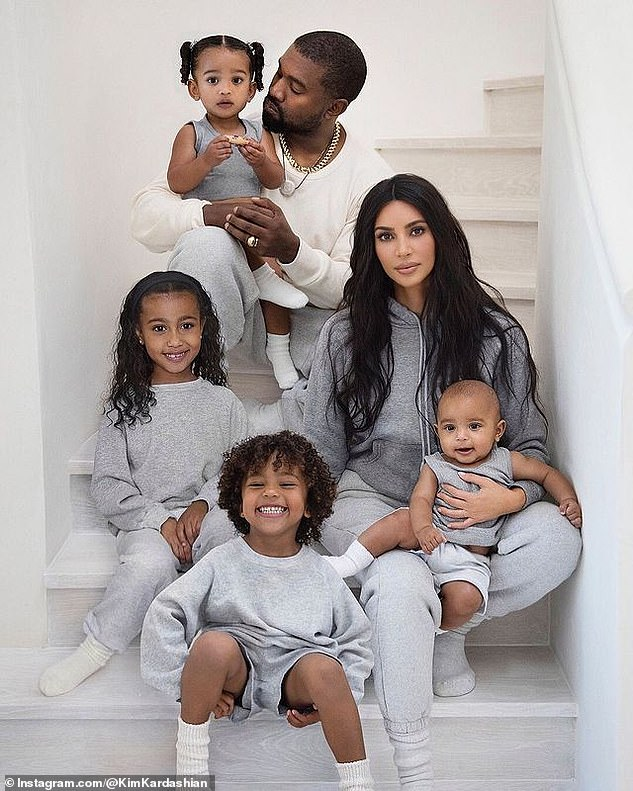 Friendly exes:Whilst there's no chance of Kim and Kanye – who have North, eight, Saint, five, Chicago, three, and two-year-old Psalm together – being together, they're still great friends
