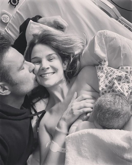 Harry Judd welcomes third child as wife gives birth