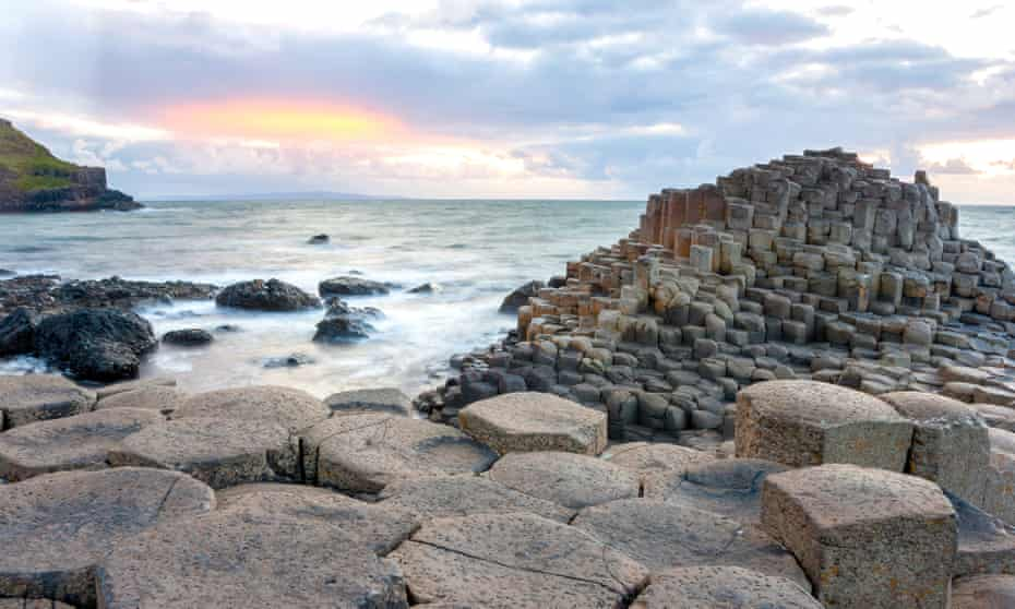 One of the most celebrated stretches of the Ulster Way takes in the Giant's Causeway.