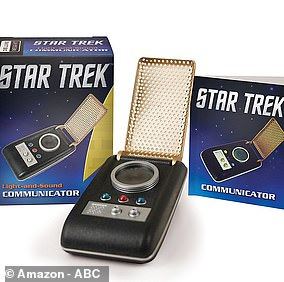 Bezos was replicating the Star Trek classic communicator, used by Shatner and others in the original series
