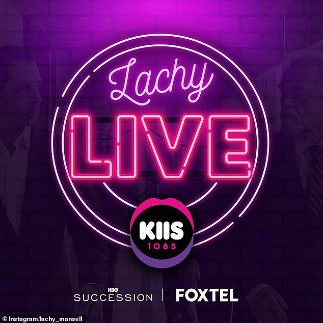 Career: Lachlan, an experienced motorsports commentator, already works for Kyle and Jackie O as a casual producer. Lachy Live will include celebrities, games, music and more
