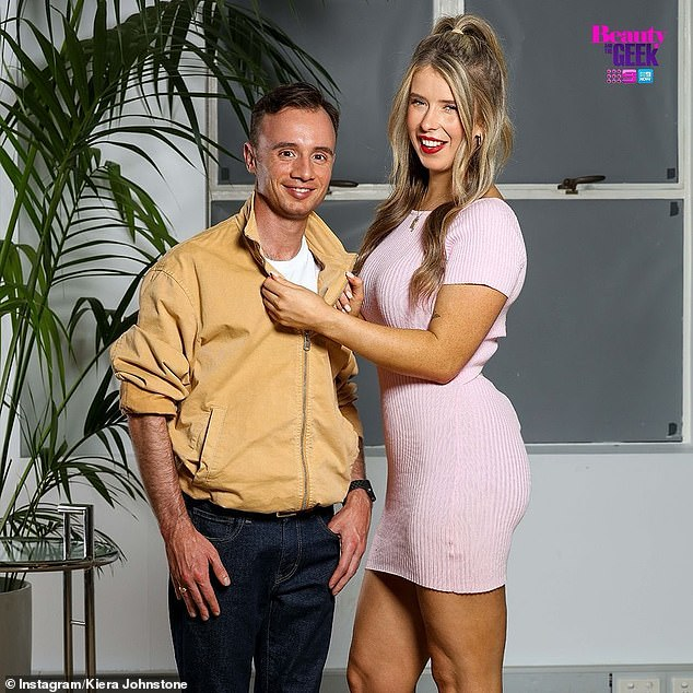 Pals: In a follow-up interview, Lachlan revealed the pair had a platonic relationship on the show