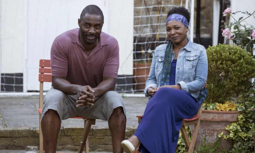 Idris Elba and Nadine Marshall in Second Coming.