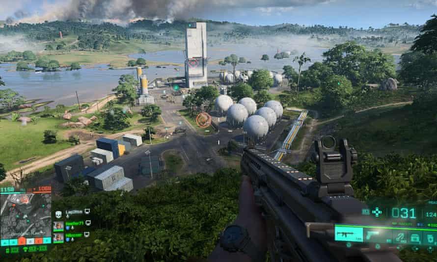 Battlefield 2042 view
