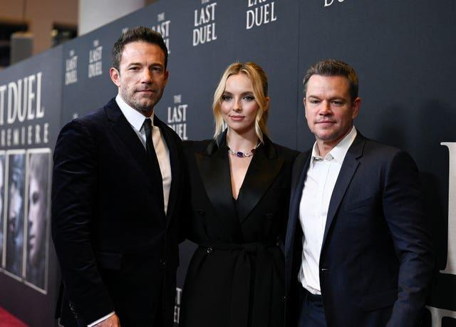"""NY Premiere of """"The Last Duel"""""""