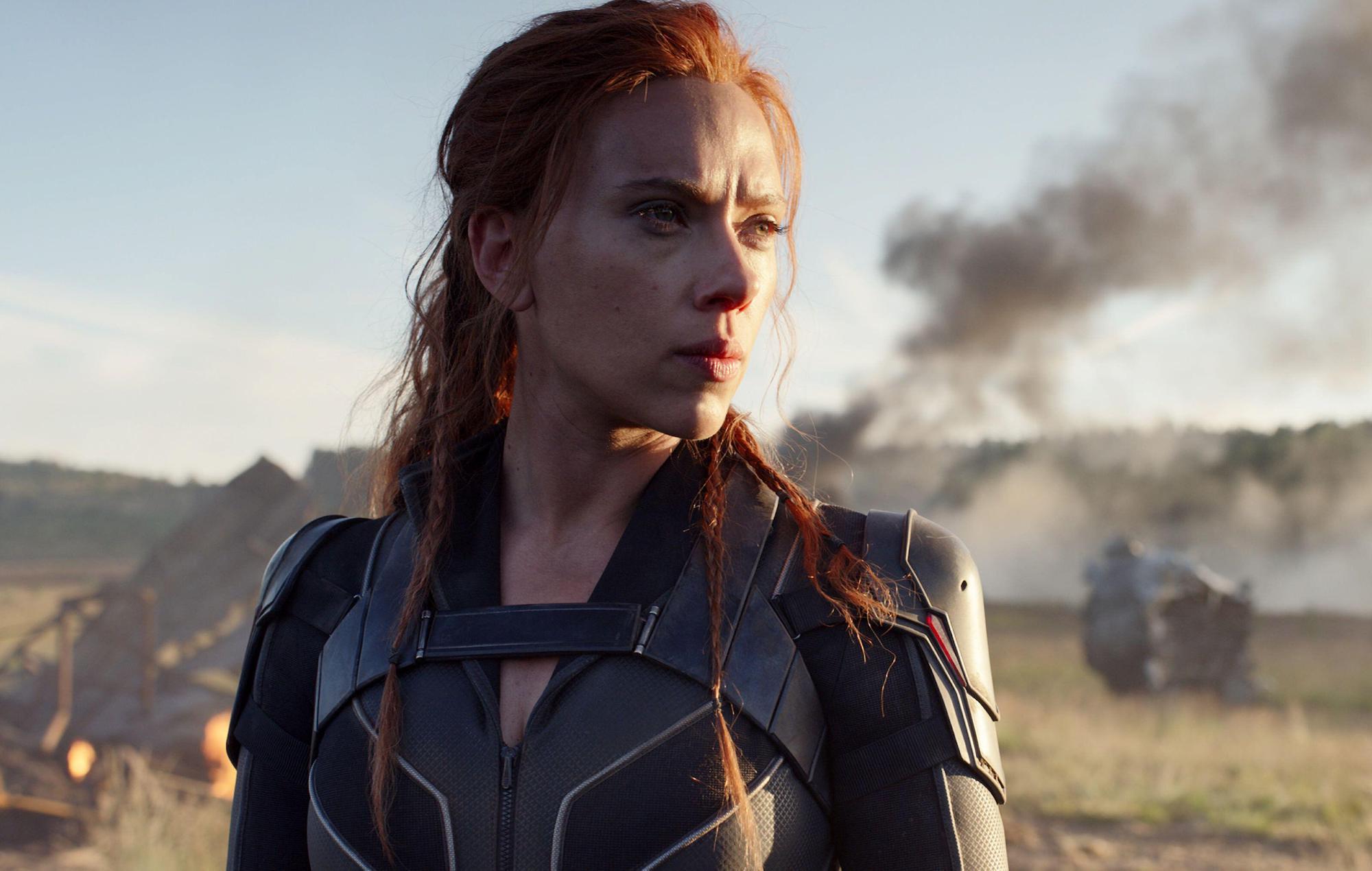 Scarlett Johansson Black Widow Marvel