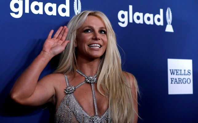 Britney Spears at an awards show