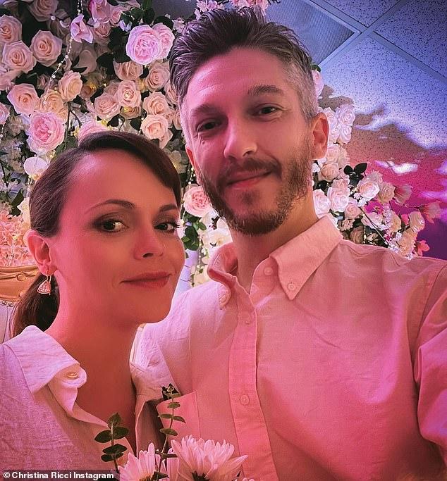 I do!Christina Ricci has married hairstylist and baby daddy Mark Hampton