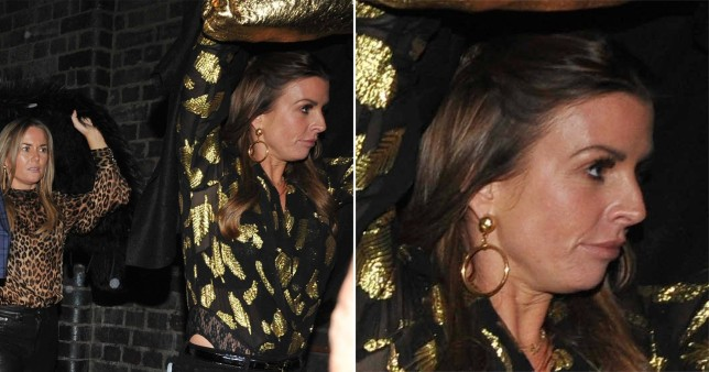 Coleen Rooney on night out with friends