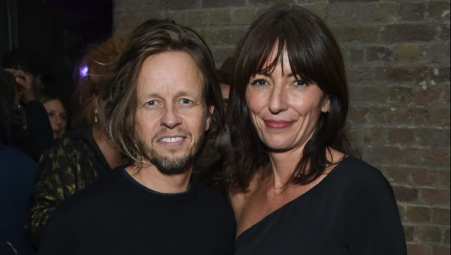 Davina McCall and boyfriend Michael Douglas