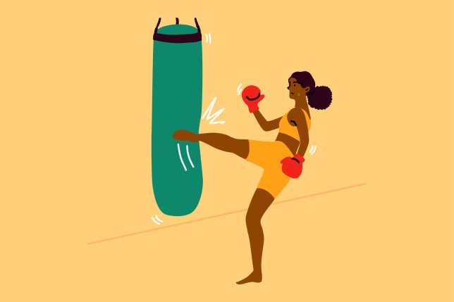 Sport, strength, fight, training, fitness concept