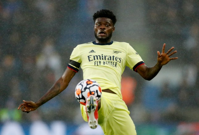 Thomas Partey struggled to make an impact in Arsenal's draw with Brighton