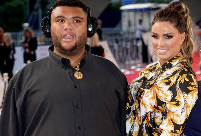 Harvey Price (left) and Katie Price attending the National Television Awards 2021.