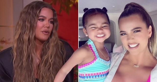 Khloe Kardashian and daughter True