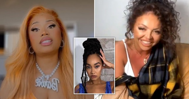 Nicki Minaj slammed for defending Jesy Nelson over 'blackfishing' after accusing Miley Cyrus of cultural appropriation