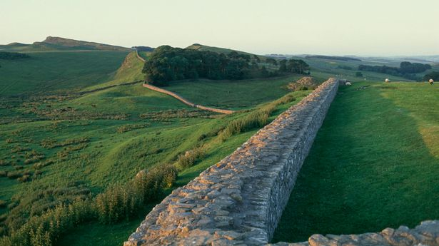Hadrian's Wall in Cumbria tops the list of UK adventures Brits are keen to try