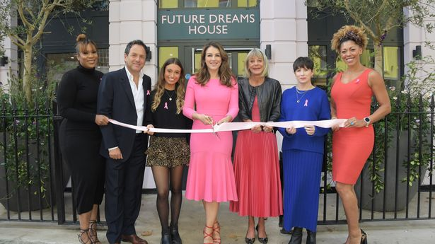 Elizabeth Hurley launches new breast cancer support centre in London for Estée Lauder Companies
