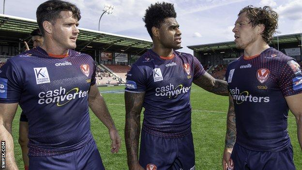 Lachlan Coote, Kevin Naiqama and Theo Fages