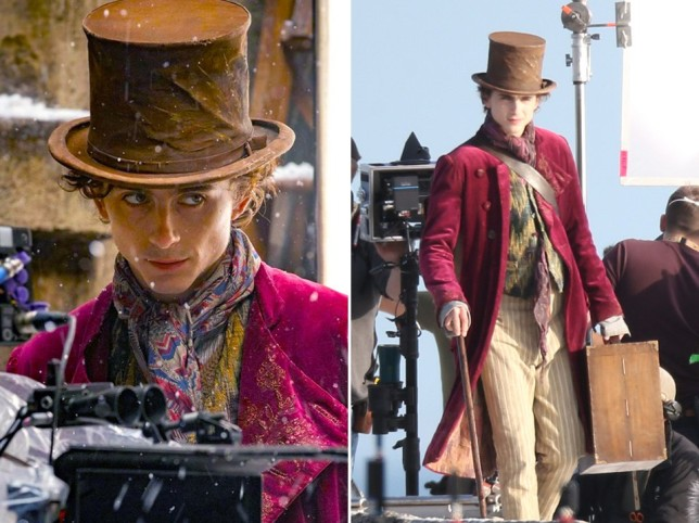 Timothee Chalamet starts filming Wonka