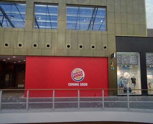 BurgerKing Rive gauche palissade out