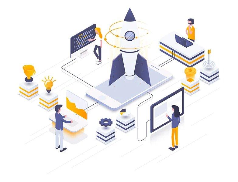 Création projet web next solution