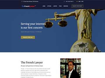 Création site Internet cabinet d'avocats