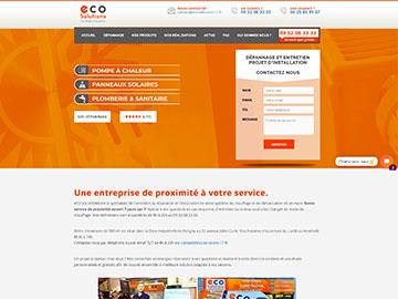 Création site Internet chauffage et climatisation
