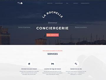 Création site Internet conciergerie à La Rochelle