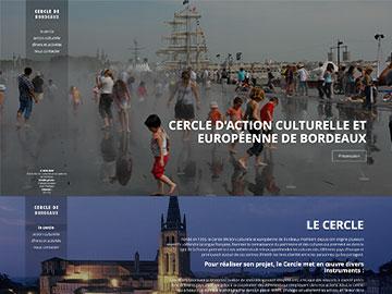 Création site Internet culturel Bordeaux