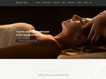 Création site Internet salon esthétique