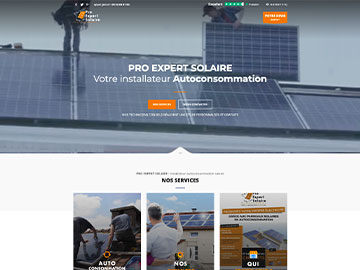 Création site Ma Production Solaire