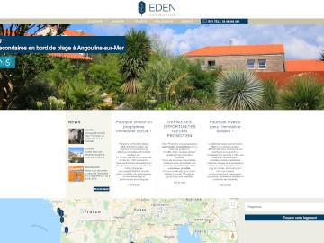 Référencement site Eden Promotion