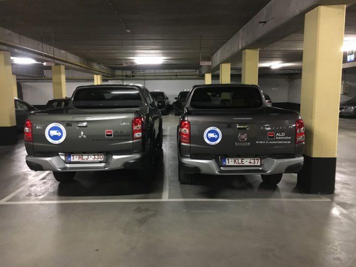 """décoration des """"Navettes"""" pour ALD au salon Auto"""