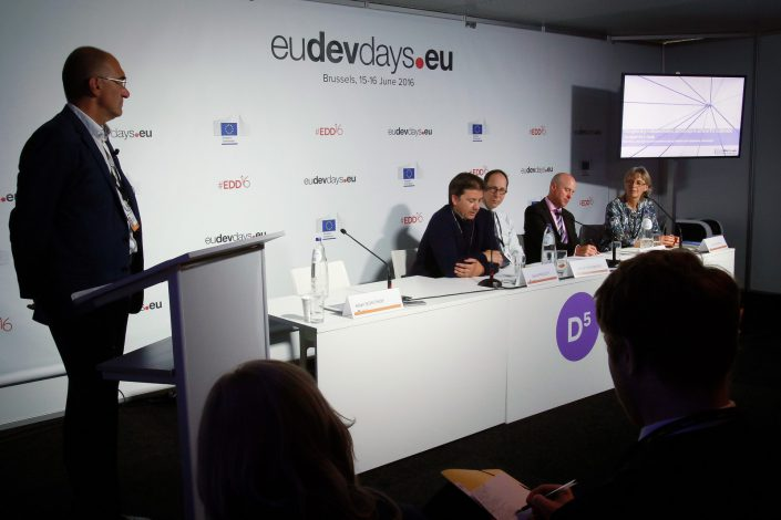 eudevdays - European Development Days - Habillage des Debate room
