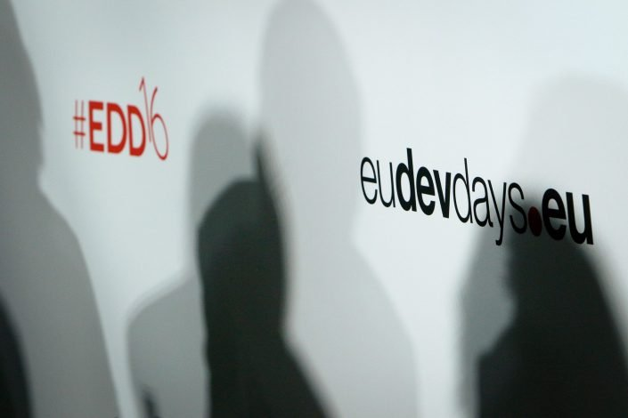 eudevdays - Signalétique de l'événement European Dev days