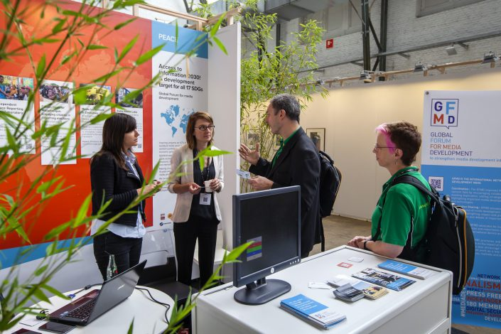 eudevdays - European Development Days - Stand decoration