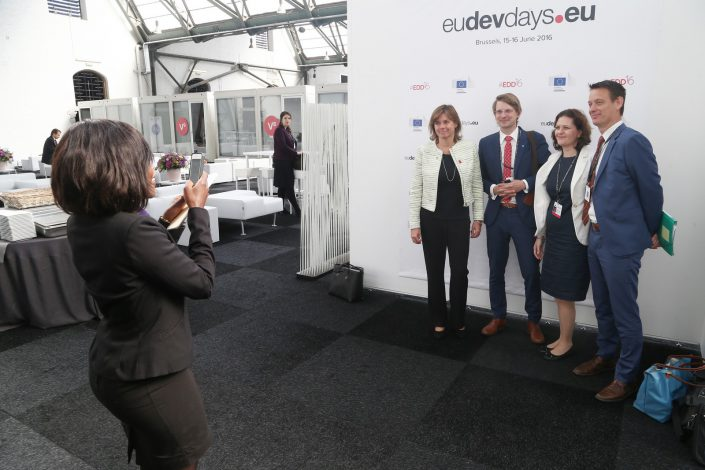 eudevdays - Brussels , Belgium - 2016 June 15th - European Development Days - Bilateral Meeting