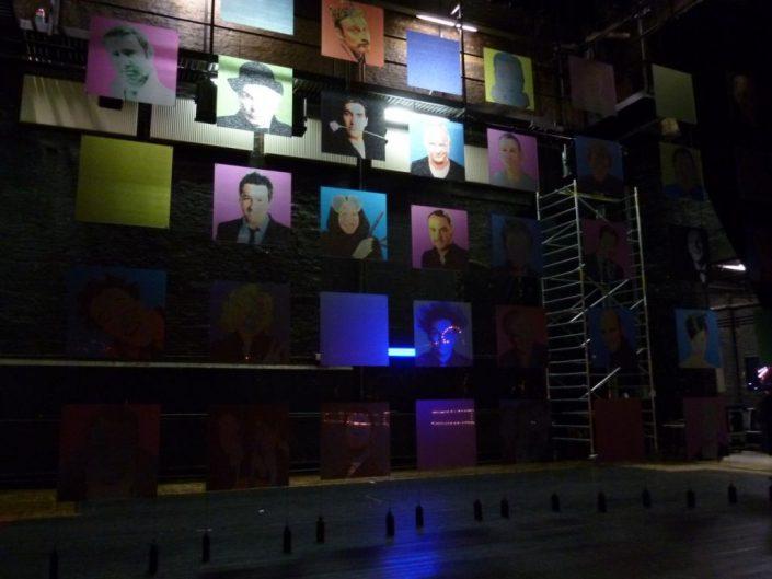 decors studio tv - Le Gala du Voo Rire Festival 2016