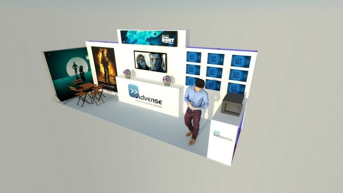3D Stand Advense -T3 structure