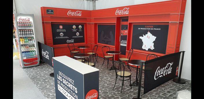 coca-cola event bar