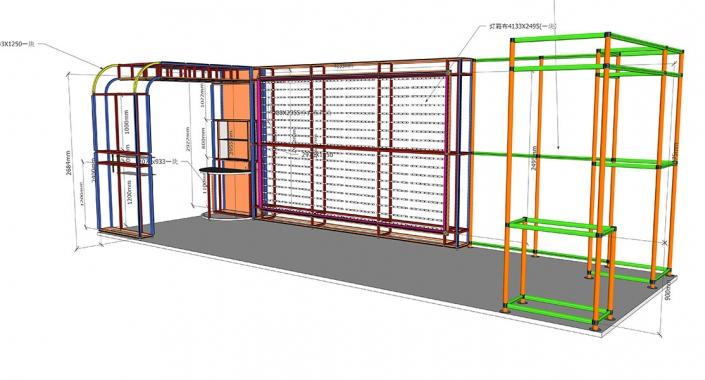 Modular displays 3