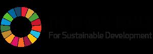 The Global Goal Horizontal color logo