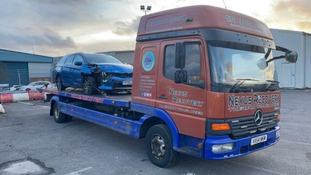 BREAKDOWN RESCUE AND RECOVERY SERVICE