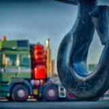 hook, crane, close up